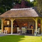 VRI interieur buitenkeukens eikenhouten bijgebouwen en tuinpaviljoens Rasenberg