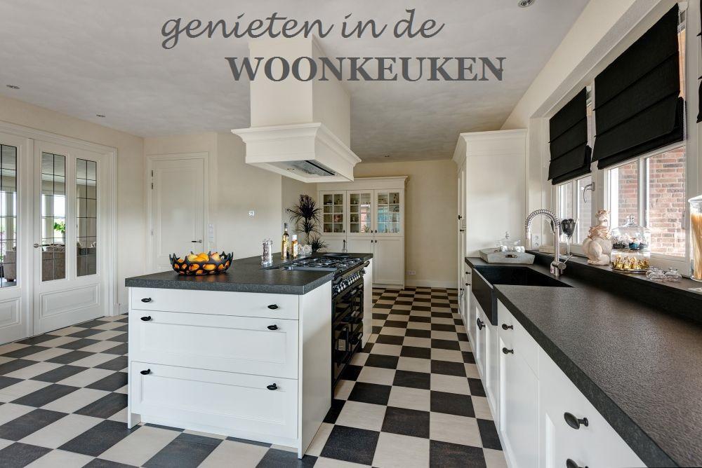 VRI interieur landelijk moderne keuken wit