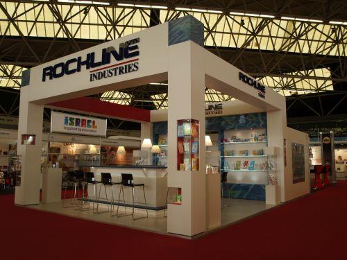 VRI interieur standbouw Rockline industries tijdens PLMA 2014