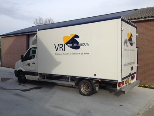 VRI interieur: transport beursstand