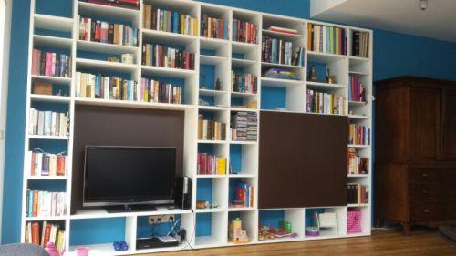 vri interieur exclusief bureau en boekenkast