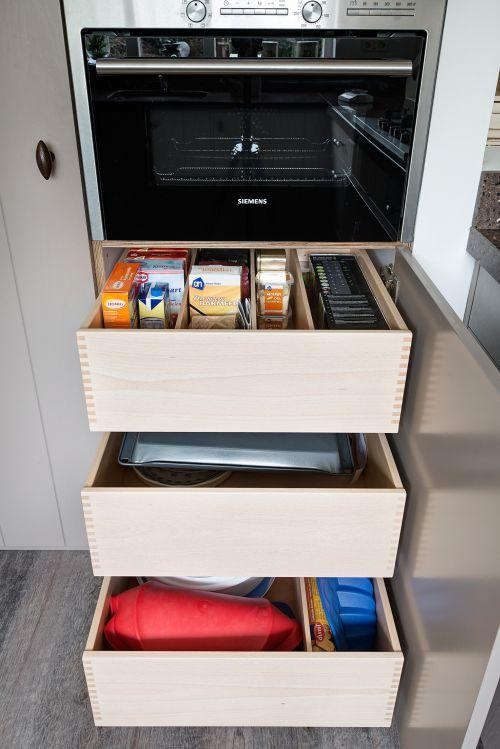 Keuken Lichtgrijs : VRI interieur exclusieve houten laden keuken lichtgrijs
