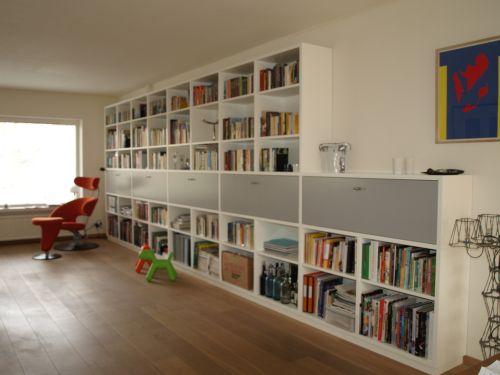 VRI interieur: exclusieve kastenwand modern design