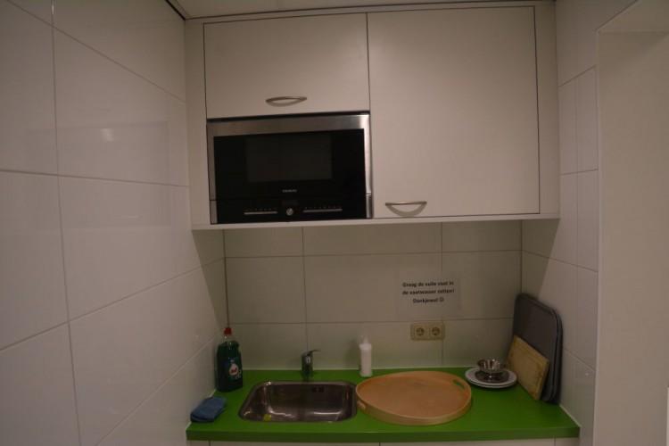 Keuken voor op kantoor gemaakt door VRI interieur