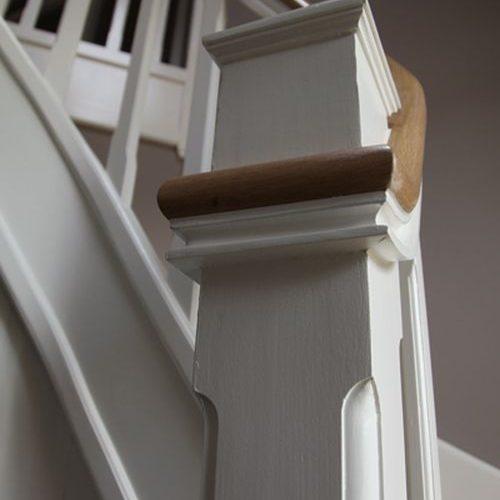 Van Driel houtbewerking: detail exclusieve trap