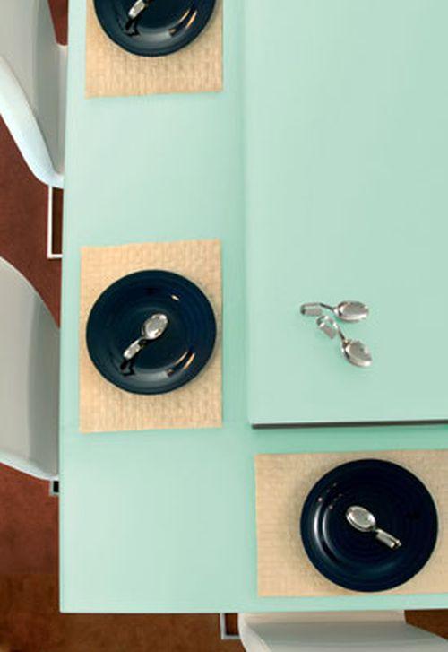 VRI interieur werkblad keuken in gehard glas Dekker Zevenhuizen