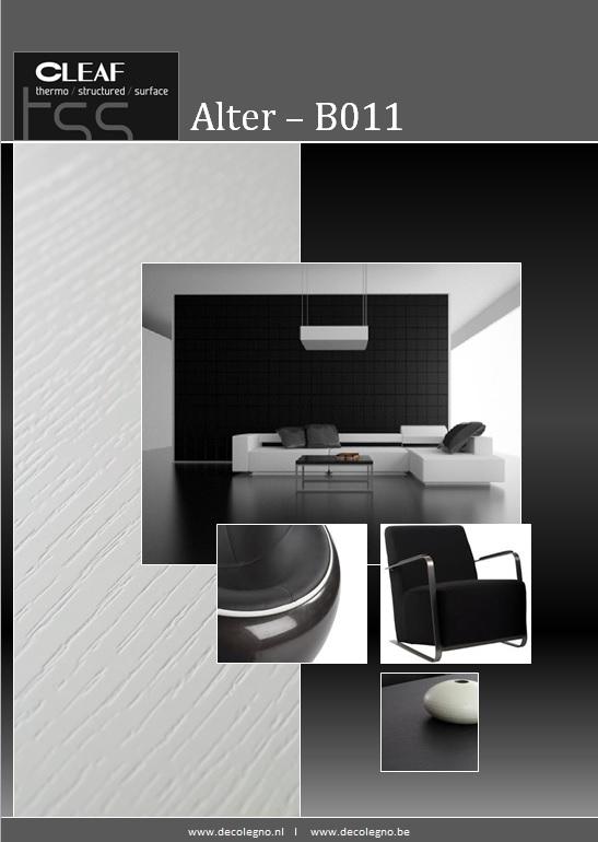 VRI interieur: moodboard Decolegno structuur Alter B011