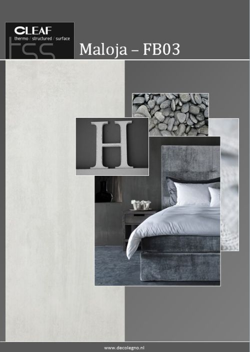 VRI interieur: moodboard Decolegno structuur Maloja FB03