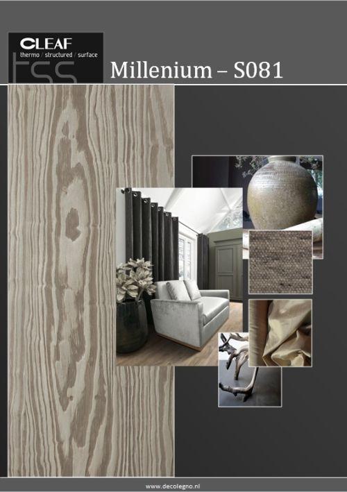 VRI interieur: moodboard Decolegno structuur Millenium S081