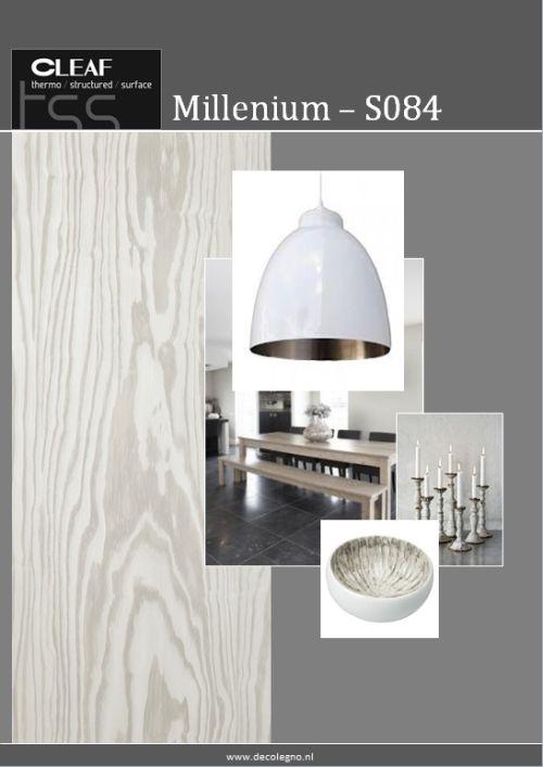 VRI interieur: moodboard Decolegno structuur Millenium S084
