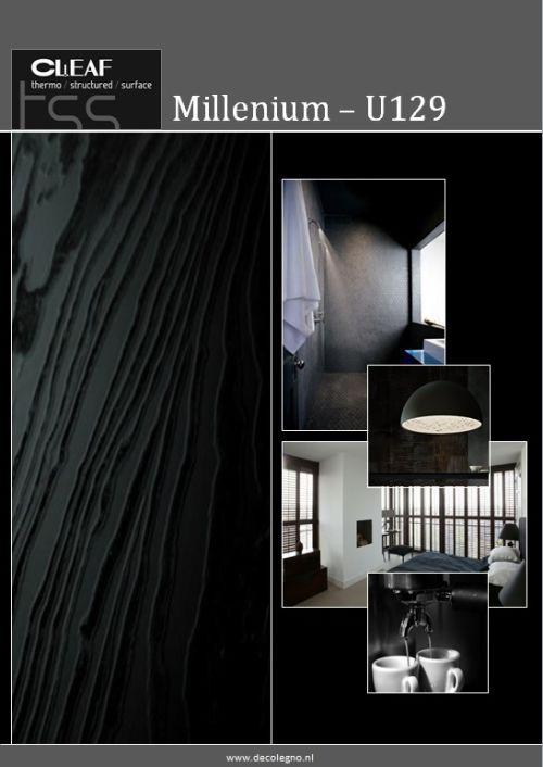 VRI interieur: moodboard Decolegno structuur Millenium U129