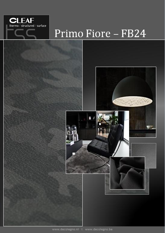 VRI interieur: moodboard Decolegno structuur PrimoFiore FB24