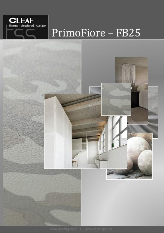 VRI interieur: moodboard Decolegno structuur PrimoFiore FB25