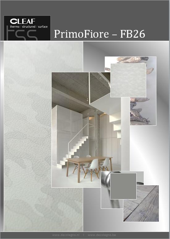 VRI interieur: moodboard Decolegno structuur PrimoFiore FB26
