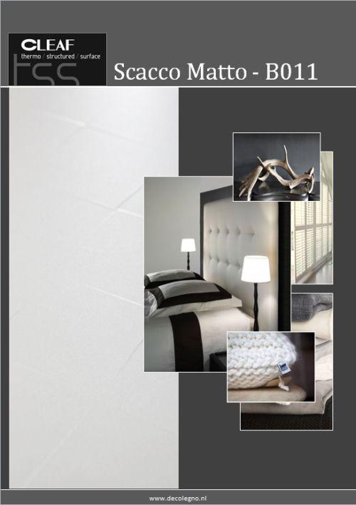 VRI interieur: moodboard Decolegno Scacco Matto B011