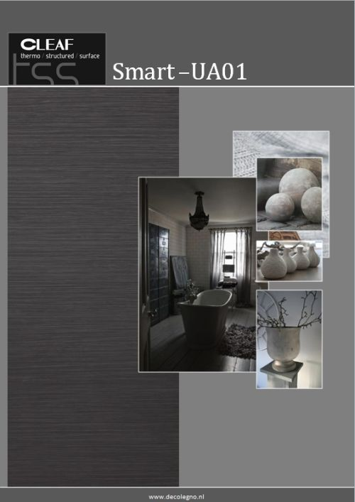 VRI interieur: moodboard Decolegno structuur SmartUA01
