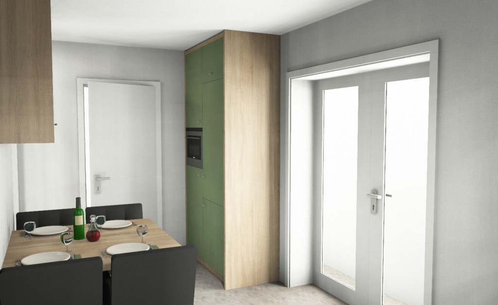 Groene keuken muur keuken witte muur groene gehoor geven aan uw huis groene - Keuken rode en grijze muur ...