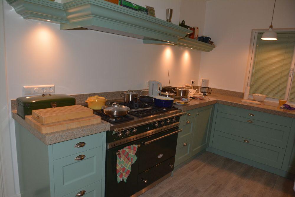 Keuken wit groen gehoor geven aan uw huis - Keuken wereld thuis ...
