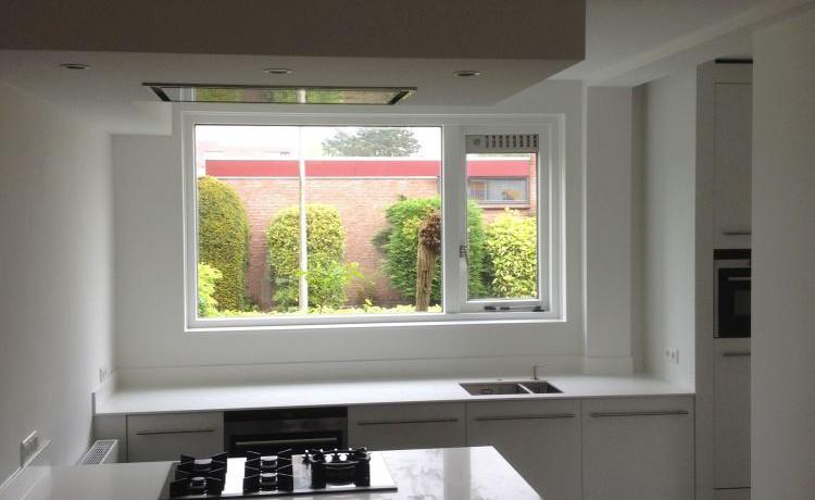 Witte Keuken Met Grijs Blad : VRI interieur design keuken modern ...