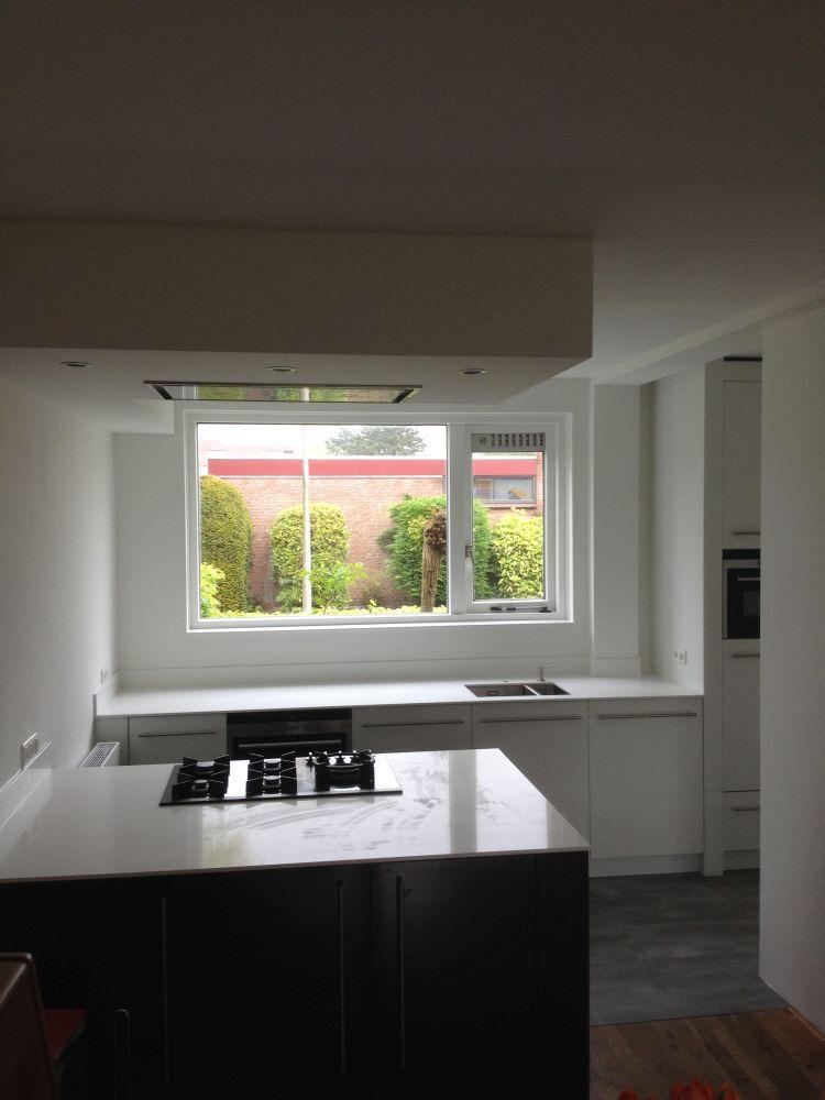 Keuken Grijs Eiken : Keuken Hoogglans Grijs : Modern hoogglans grijs italiaans woonkamer
