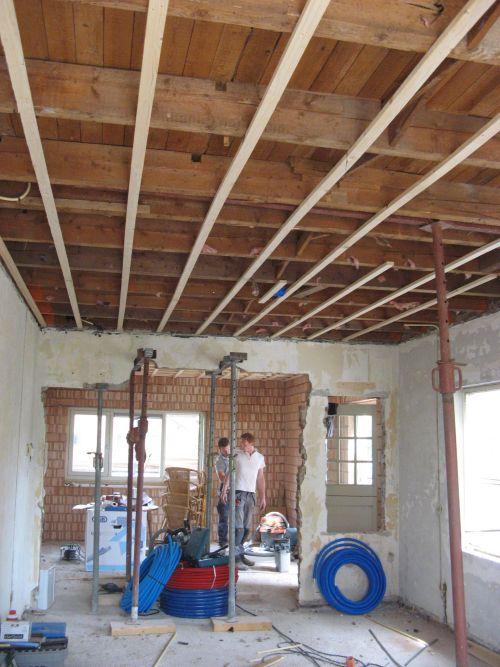 VRI interieur: verbouwing keuken en woonkamer