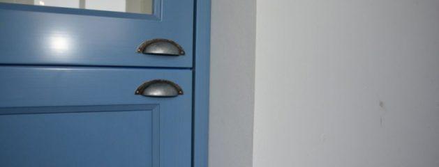 Keuken lichtblauw Langbroek
