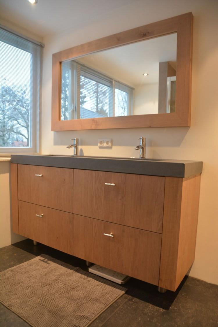 Keuken en badkamer in dezelfde stijl andere uitstraling vri interieur - Oude stijl keuken wastafel ...