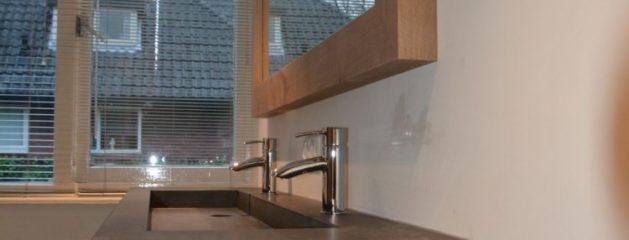 Badkamer eiken verweerd Amerongen