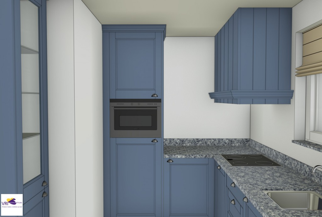 Moderne Blauw Keuken : Jasper zwart moderne keuken